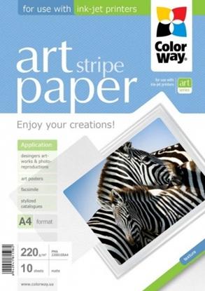 Изображение Design Paper ColorWay Lines, A4, 220g, Matte (10) 0710-600