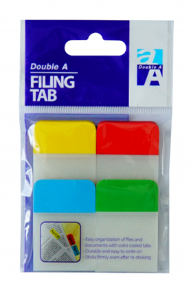 Picture of Double A Filing Tab 4C 38x25 mm