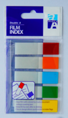 Picture of Double A Film Index 5C 45x12 mm Colors at ends