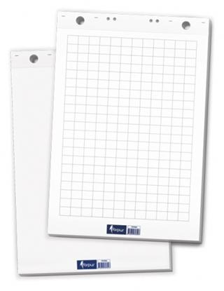 Attēls no Flipchart paper blocks 60x85cm, Squared 50 sheets