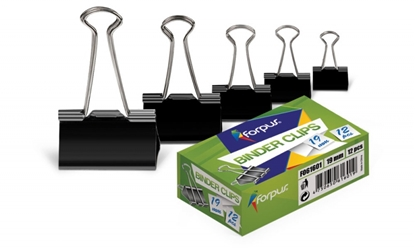 Picture of Forpus clips, 50mm, black 12 pieces