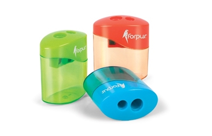 Изображение Forpus sharpener with box, 2 holes 1226-007
