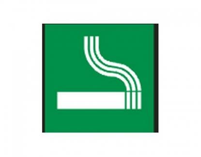 Изображение Information Table 24.1 Smoking Area, 93mm x 93mm 0616-123