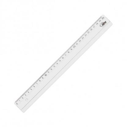 Picture of Ruler Forpus, plastic, transparent, 30cm 1225-023