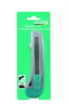 Picture of STANGER Cutter Knife,18 mm, 1 vnt 340110
