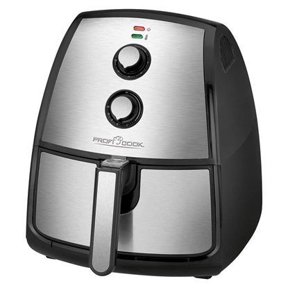 Attēls no Clatronic PC-FR 1115 H Hot air fryer 3.5 L Single Black,Stainless steel Stand-alone 1500 W
