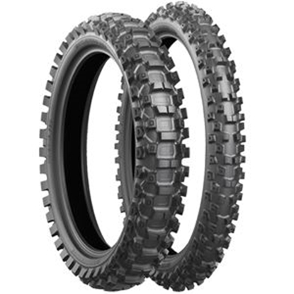 Picture of 110/100-18 BRIDGESTONE X20R 64M TT NHS