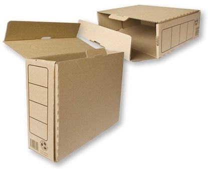 Attēls no Archyvinė dėžė SMLT, 105x250x335mm, ruda, ekologiška 0830-304