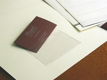 Изображение Lipni kišenė vizitinėms, 55x90 mm, skaidri (10) 0825-006