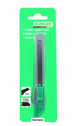 Picture of STANGER Cutter Knife, 9 mm, 1 vnt 340111