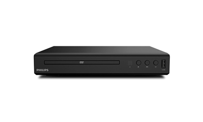 Attēls no Philips DVD player TAEP200/12 CD, CD-R/RW, DVD, DVD+R/RW, DVD-R/RW, DivX, JPEG, MP3, WMA, HDMI output, USB input, 12-bit/108 MHz