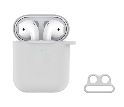 Attēls no Devia Crystal series Devia Naked Silicone Case Suit for AirPods (with loophole) wh for AirPods clear