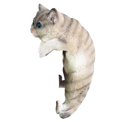 Изображение Dārza dekors 4living Kaķis rāpjas 32cm