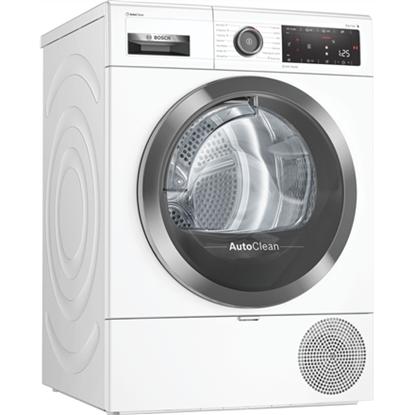 Изображение Bosch Dryer mashine WTX8HKL9SN Energy efficiency class A++, Front loading, 9 kg, Heat pump, LED, Depth 60 cm, Wi-Fi, Steam function, White, Home conect