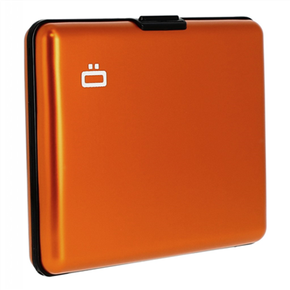 Изображение Ögon Big Stockholm 95 g, Orange, Aluminium, Wallet / Credit card holder in aliuminium