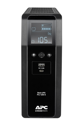 Picture of APC BACK UPS PRO BR 1200VA Line-Interactive 1.2 kVA 720 W 8 AC outlet(s)
