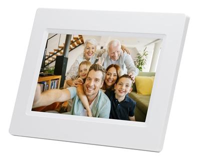 Attēls no Denver Frameo PFF-710 white 17,8cm (7,0 )