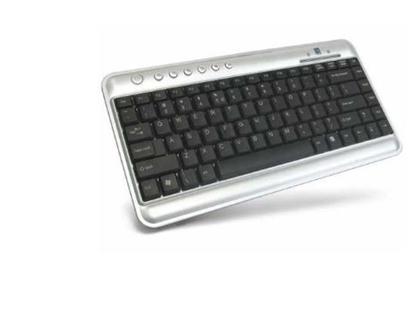 Изображение A4Tech 10242 KL-5 USB Compact Keyboard silver
