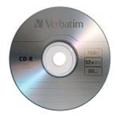 Picture of CD-R 80min/700Mb 52x ,  1 gab.