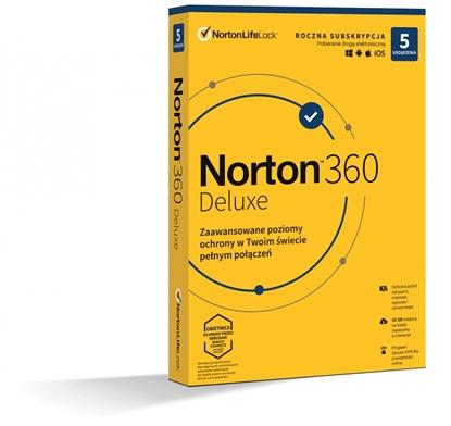 Изображение *Norton 360 DELUX   50GB PL 1U 5Dvc 1Y   21408667