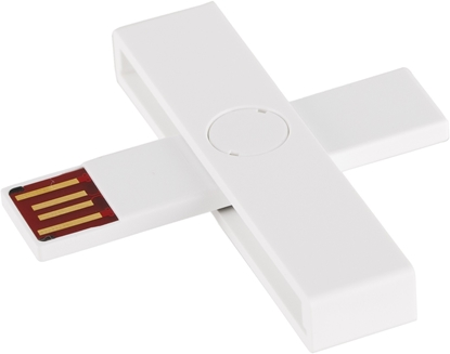 Picture of Smart card reader USB (White)