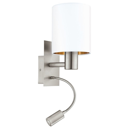 Picture of S.l.-PASERI 40W E27 + 3.5W LED 380lm balta/vara