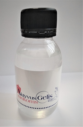 Picture of Hand Gel Disinfectant with 40% Alcoholic consistence 100ml