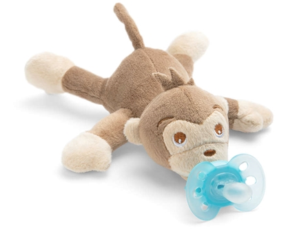 Picture of Akcija! Philips Avent plīša rotaļlieta Mērkaķītis ar Ultra soft māneklīti 0–6 mēn.