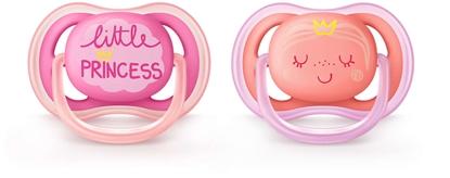 Attēls no Akcija! Philips Avent Ultra Air DECO silikona māneklītis, 6-18 mēn.,meitenēm,(2 gab.