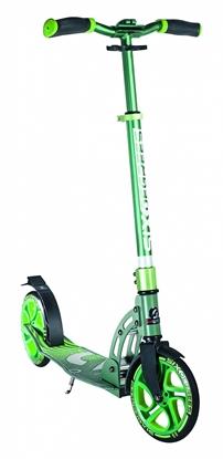 Изображение Akcija! Six Degrees Scooter skrejritenis 205 mm, zaļš