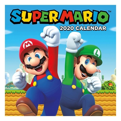 Изображение 2020 Calendar - Super Mario, 30x30cm