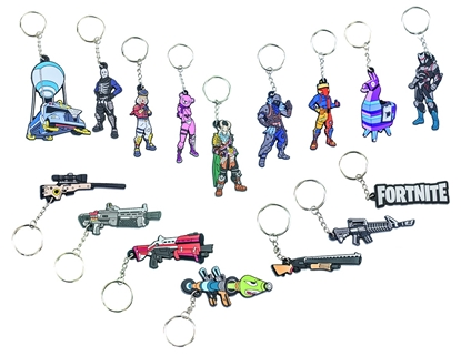 Attēls no Fortnite - Rubber Keychain Assortment