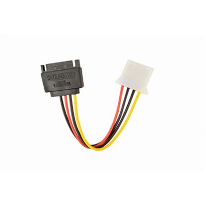 Attēls no GEMBIRD   SATA (male) to Molex (female) power cable, 15cm