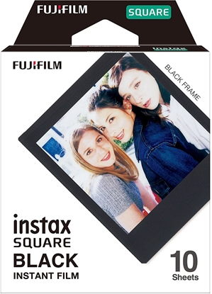 Picture of 1 Fujifilm Instax Square Film Black Frame