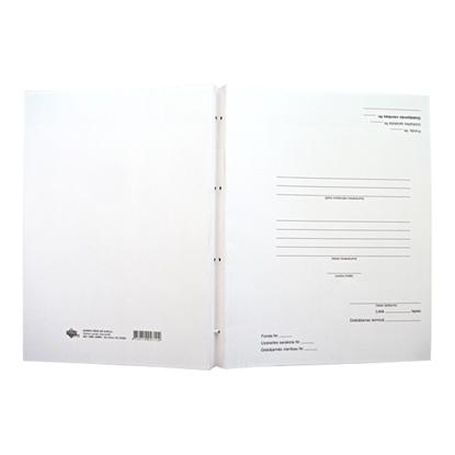 Attēls no ABC JUMS Arhīva mape   ar auklu dokumentu iesiešanai, 31 x 23 cm