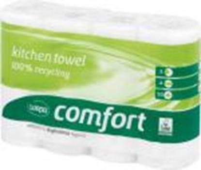 Изображение Dvieli WEPA Comfort baltā krāsa 4 rulli, 23cmx11m, 2 slāņi