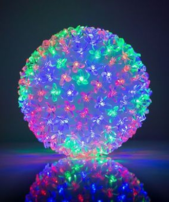 Picture of KL 50 LED bumbinas 2 color in 1 ball Multi Color