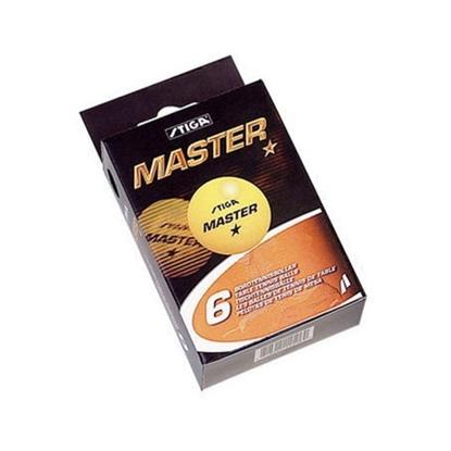 Attēls no Galda tenisa bumbiņas Stiga Master 1-star ABS 6gab. oranžas