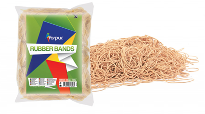 Attēls no Rubber band Forpus Ø 45mm, natural color, 1kg , 60% rubber