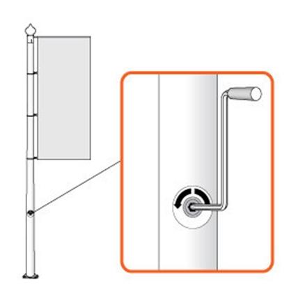 Picture of BANNER LIFT (vinčas) sistēma, 10m