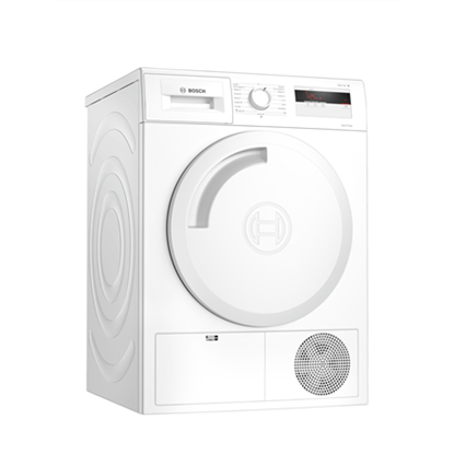 Picture of Bosch Dryer Mashine WTH8307LSN Energy efficiency class A+, Front loading, 7 kg, Heat pump, LED, Depth 60 cm, White