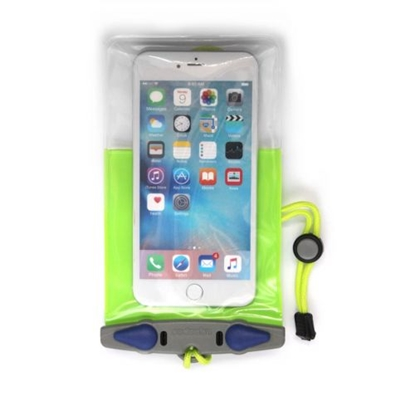 Attēls no AQUAPAC Plus Waterproof Case For Phone / Zaļa