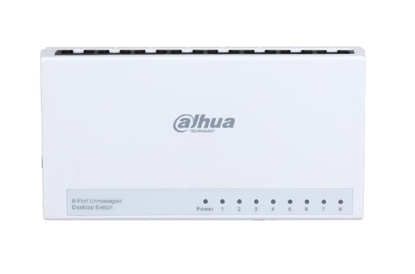 Picture of Switch|DAHUA|PFS3008-8ET-L|Type L2|DH-PFS3008-8ET-L