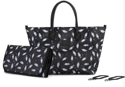 Picture of Torba do wózka Moommy Bag Black