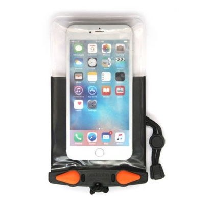 Attēls no AQUAPAC Plus Waterproof Case For Phone / Melna