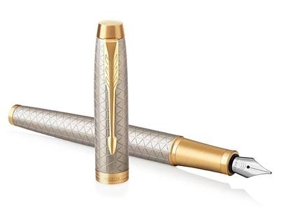 Изображение PARKER Tintes pildspalva   IM Premium Warm Silver GT Medium