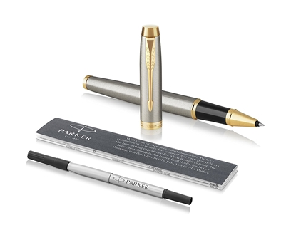Attēls no PARKER Rollerball Pen   IM Brushed Metal GT