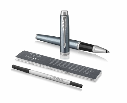 Attēls no PARKER Rollerball Pen   IM Light Blue Grey CT