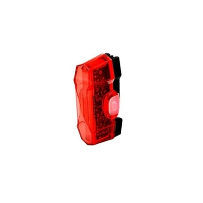 Attēls no CYCLETECH Vulcan Rear Light Smart 3 Led USB