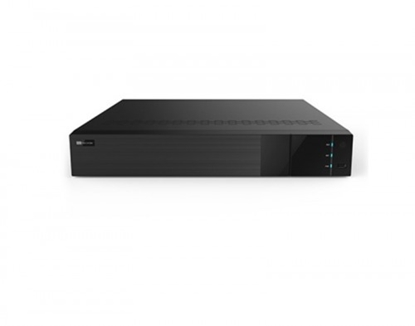 """Attēls no 8 Kanālu PRO NVR ieraksta ierīce 5 Mpix, 4 bay 3.5"""" HDD, HDMI,VGA, 16/4  I/O, Melns"""